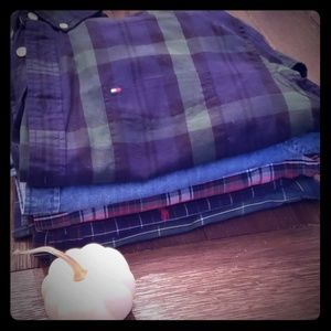 Bundle of 5 Fall Shirts